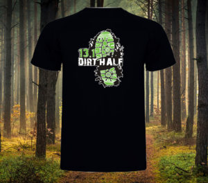 New Dirt Half Challenge T-Shirt Design for 2017