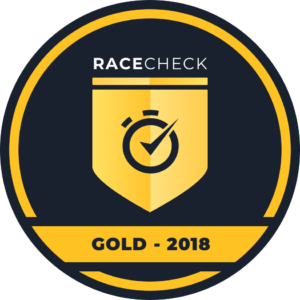 The Dirt Half Challenge wins the Racecheck GOLD Award 2018!